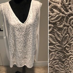 Catherines Lace Top New With Tags